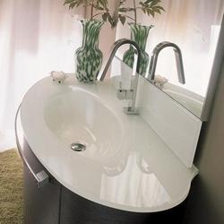 Vasque ovale