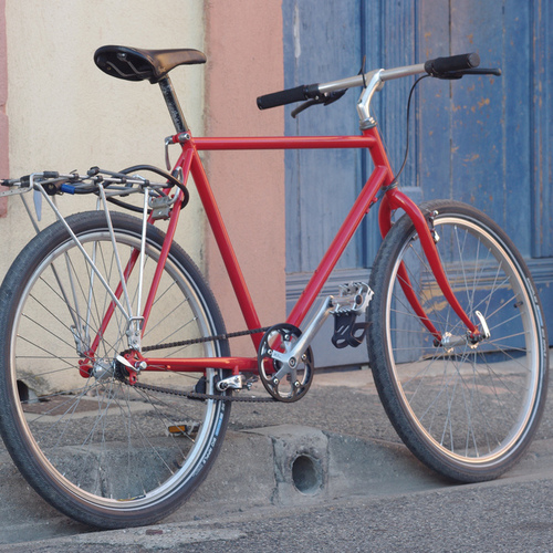 Repeindre un vélo