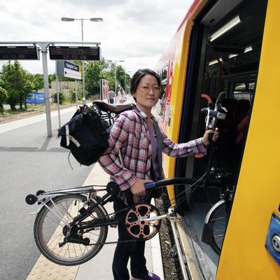 Voyager en train avec son vélo : comment ça marche ?