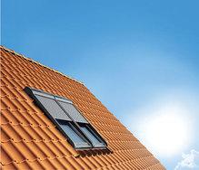 fenetre de toit ou velux vu de l'extérieur