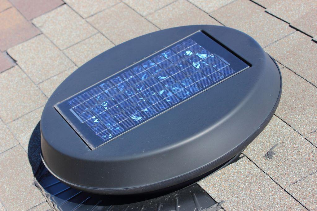 Ventilateur Solaire  Fonctionnement Prix  Ooreka