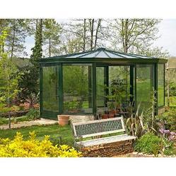 Veranda bois et alu construire veranda prix v randa - Construire jardin d hiver ...