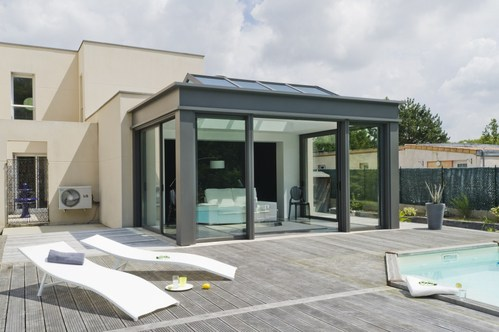 18 veranda 30m2 leroy merlin pau - Veranda moderne prix ...