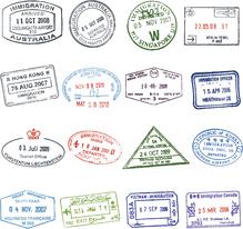 Tampons de visas