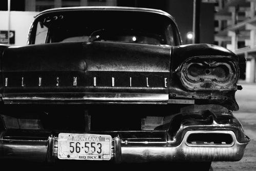 Une voiture américaine