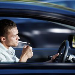 Interdiction de fumer en voiture