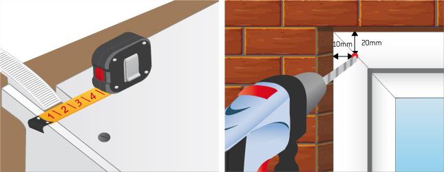 Installer un volet roulant sangle volet - Comment poser un volet roulant a sangle ...