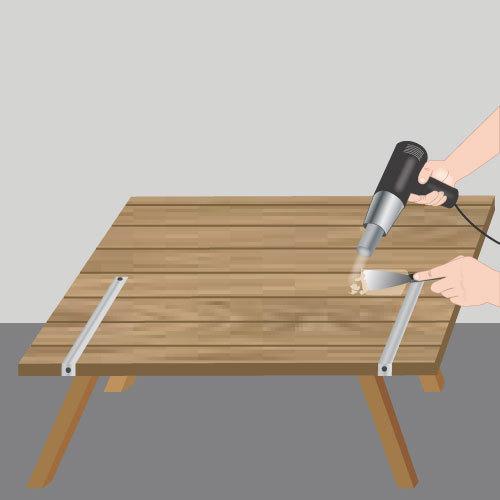 Décaper un volet en bois Volet # Décaper Des Volets En Bois