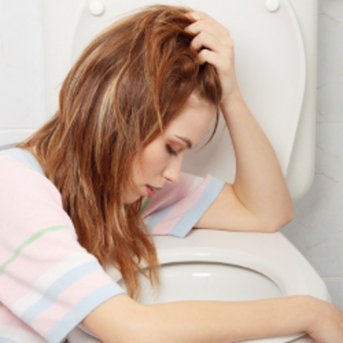 Enlever une tache de vomissures