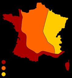 Carte température