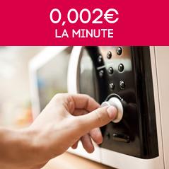 0,002€ la minute